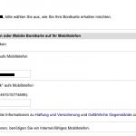 Lufthansa Online-CheckIn